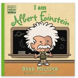 I am Albert Einstein childrens book by Brad Meltzer
