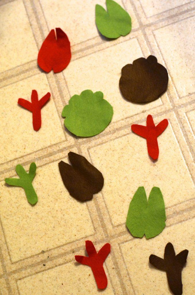 animal tracks game for kids