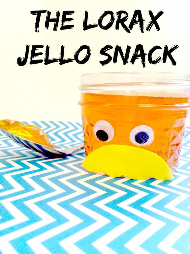 The Lorax Jello Kids Snack