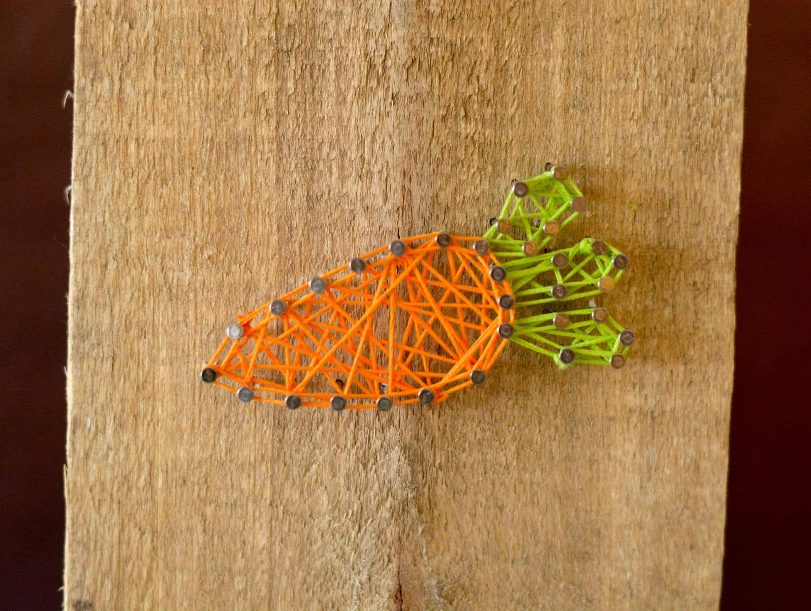 easter string art home decor craft