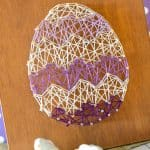 easter egg string art home decor craft