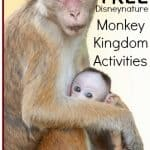 free Disney Nature monkey kingdom activities for teachers and kids