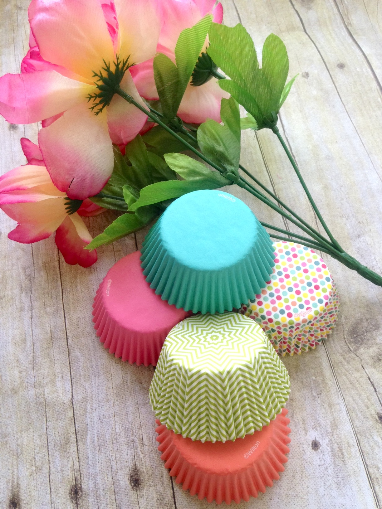 spring cupcake cup paper bouquet craft