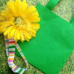 DIY Flower Gift Craft Tote Bag