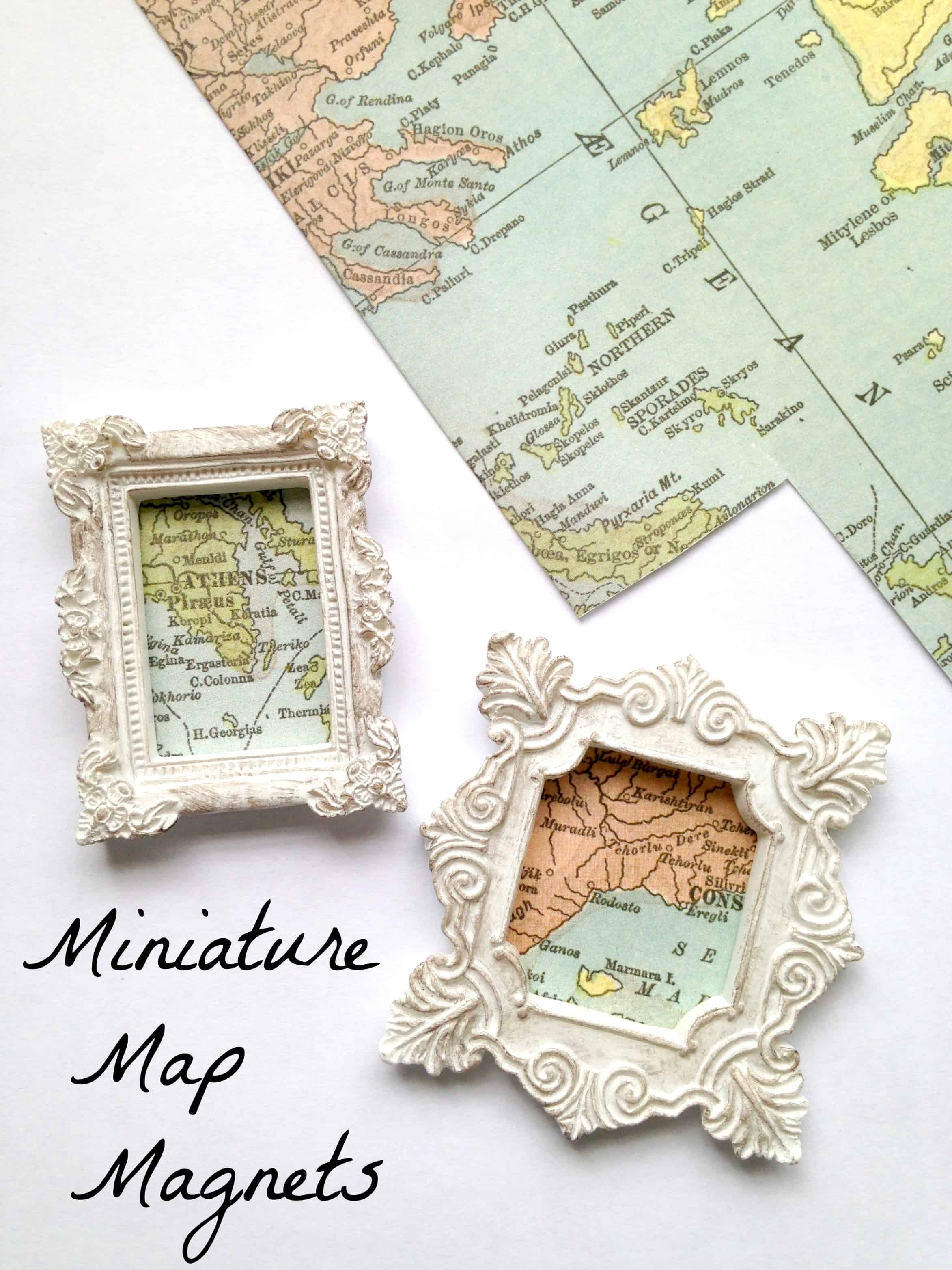 Travel Map Magnets DIY Keepsake Tutorial Exploration America – Magnetic Travel Map