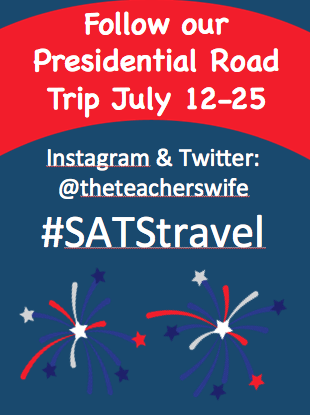 Presidential Road Trip with Kids