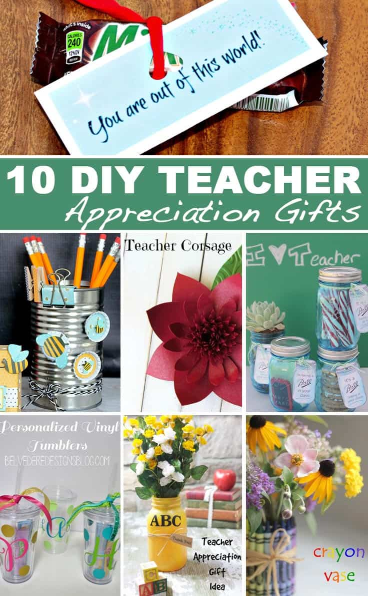 4 Year Boy Bedroom Decorating Ideas: 10 DIY Teacher Appreciation Gift Ideas