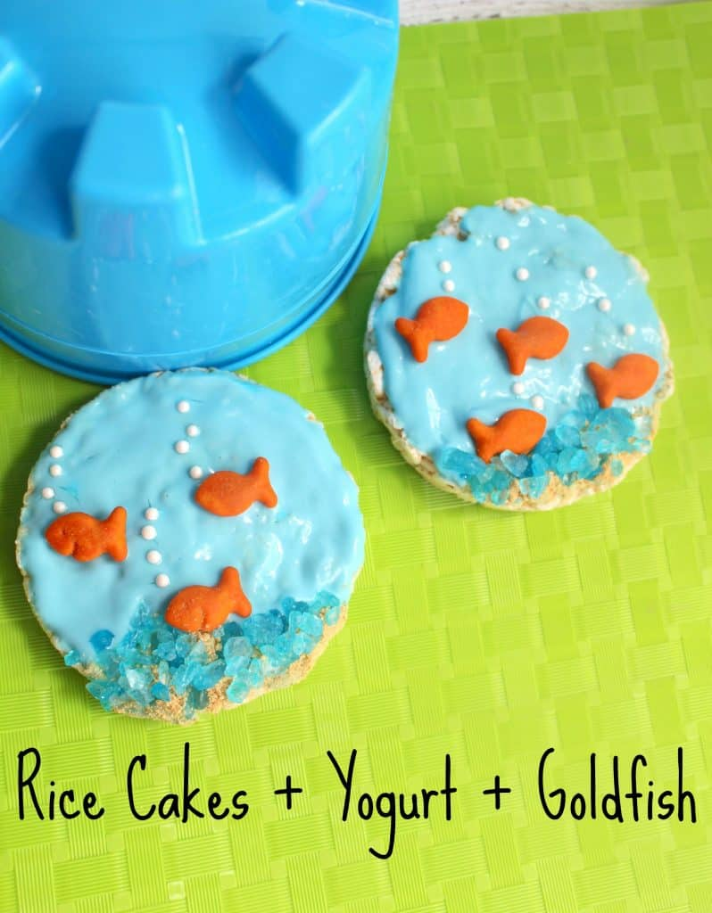 Kids Healthy Snack Idea Yogurt