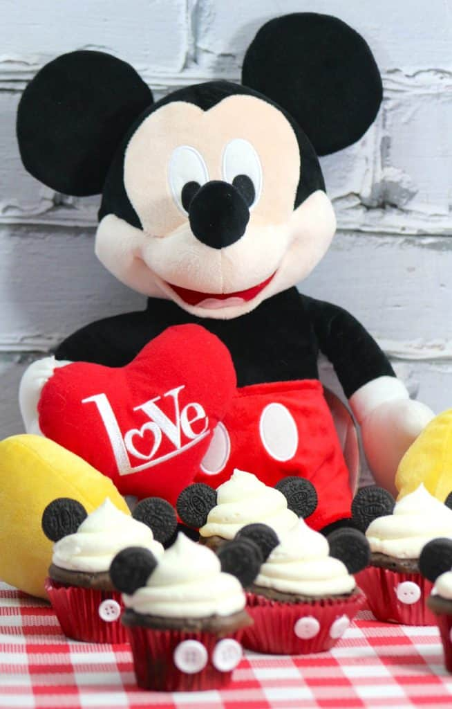 Disney Mickey Mouse Inspired Cupcakes Food Recipe Tutorial