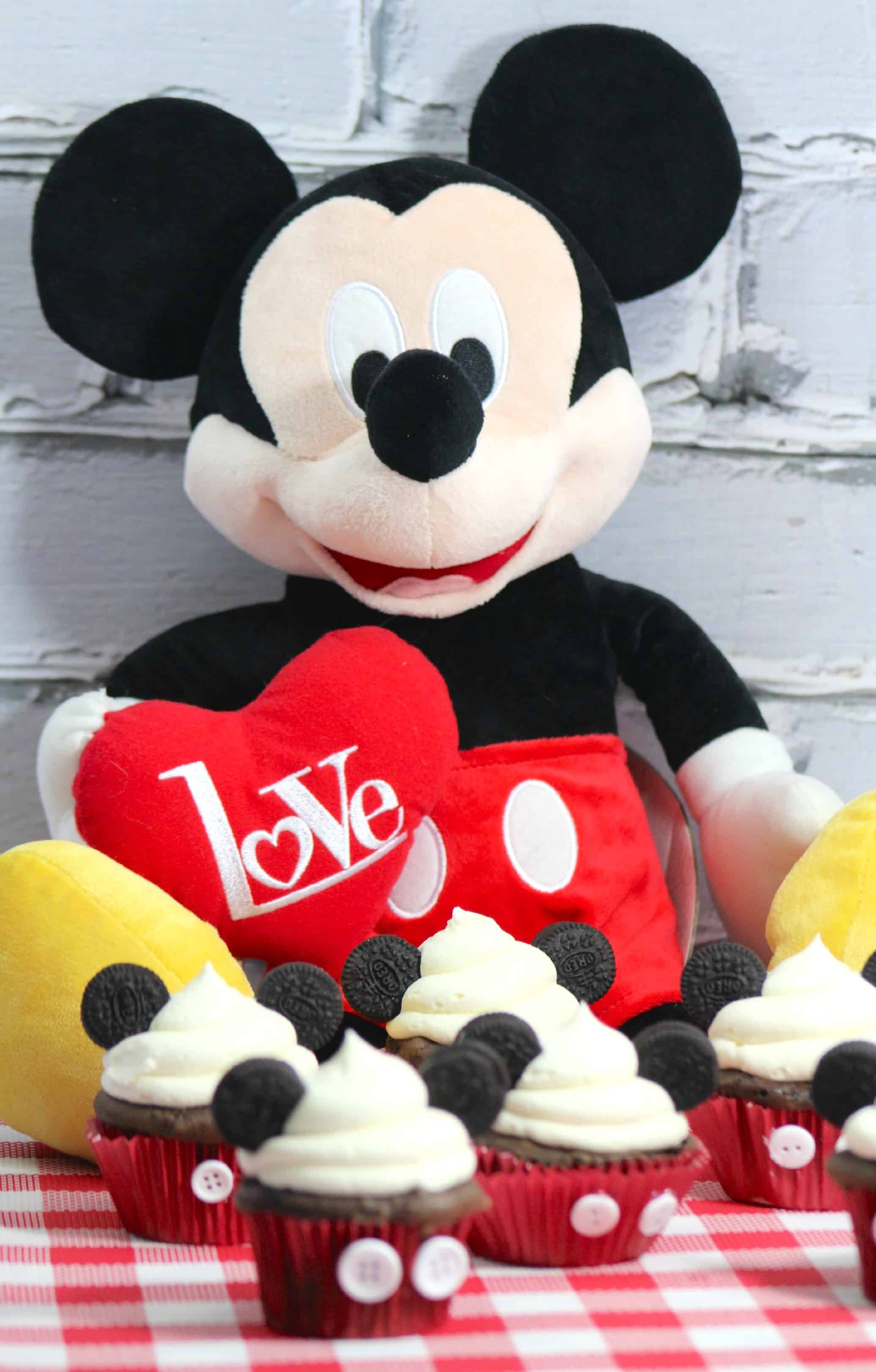 Marvelous Disney Mickey Mouse Inspired Cupcakes Food Recipe Tutorial