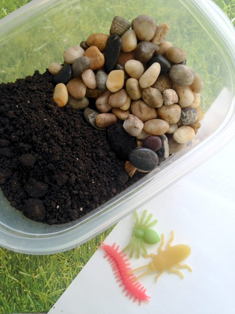 DIY Bug Sensory Bin for Kids