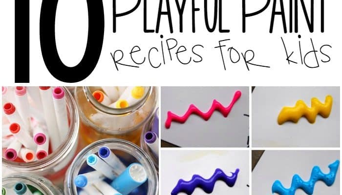 10 Playful Paint Recipes for Kids
