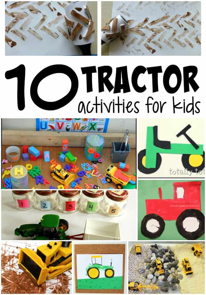 10 educational tractor activities for kids