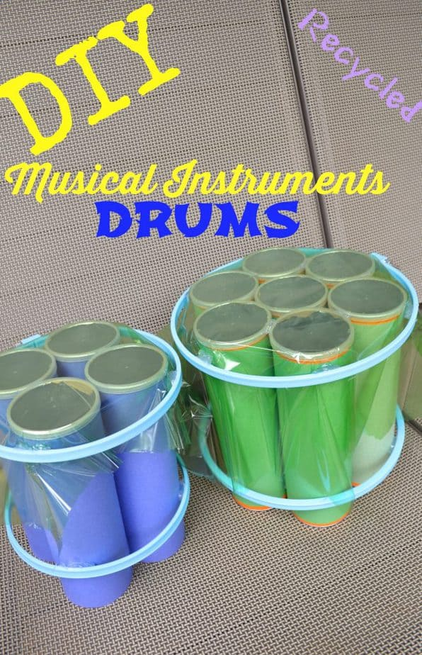 DIY Recycled Musical Instruments Drums