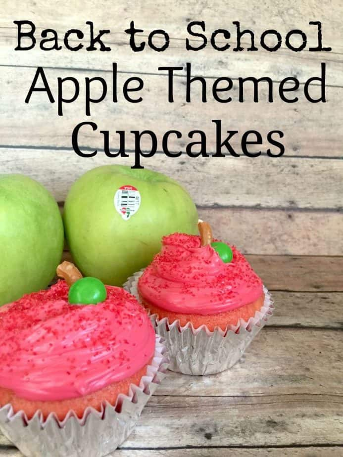 Back to School Recipe - Apple Themed Cupcakes