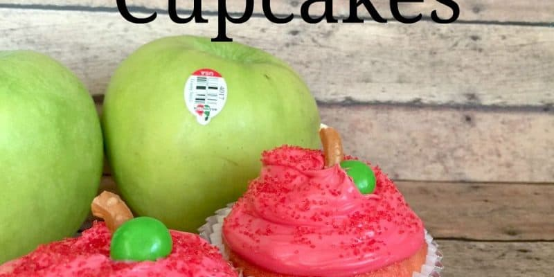 Back to School Recipe – Apple Themed Cupcakes