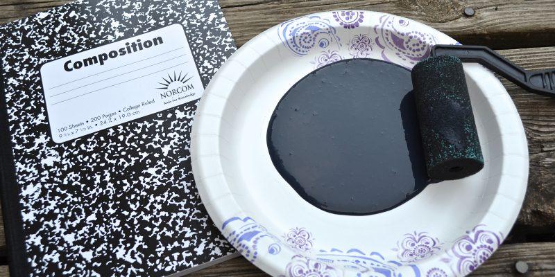 5 FUN Handwriting Activities + DIY Chalkboard Notebook