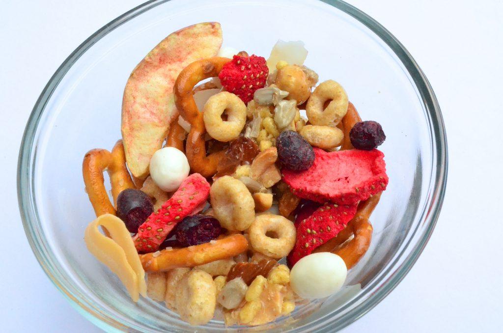Healthy Breakfast Trail Mix Recipe