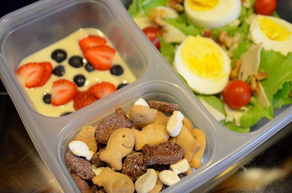 Healthy Salad School Bento Box Lunch