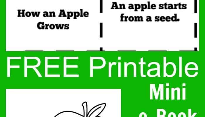 "FREE ""How an Apple Grows"" Printable e-Book"