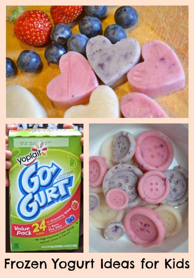 Frozen Yogurt Ideas for Kids