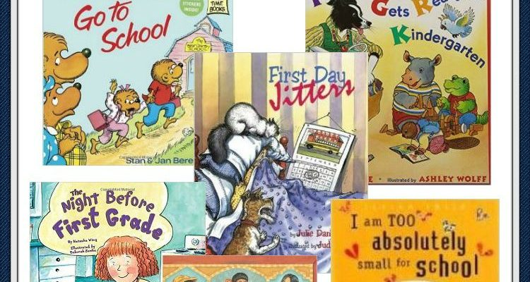Children's Books to Calm First Day of School Jitters