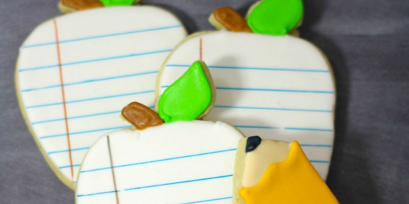 School Notebook Sugar Cookies Recipe