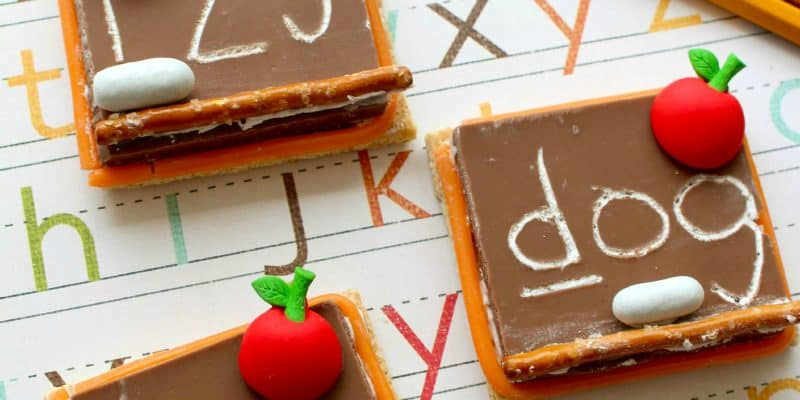 Back to School S'mores Chalkboard Recipe