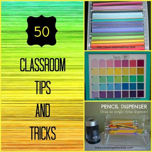 50 Classroom Tips and Tricks for Teachers