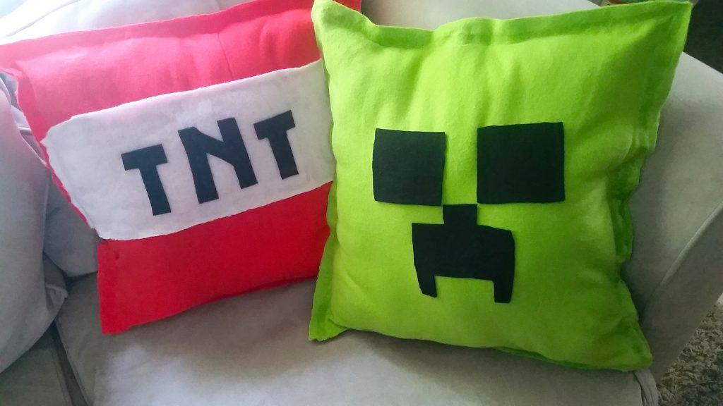 DIY Minecraft Pillows Tutorial NO SEW