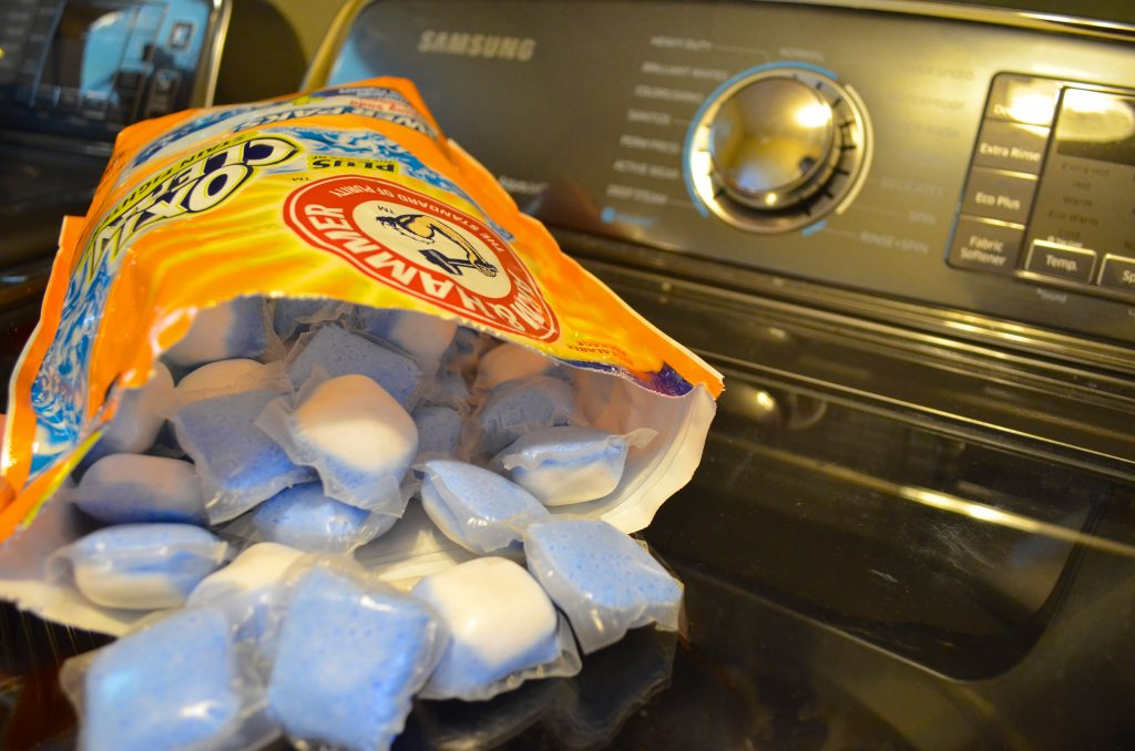 Space Saving Laundry Hacks For College Students