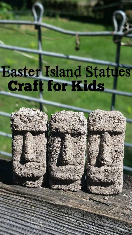 Easter Island Statues History Craft for Kids