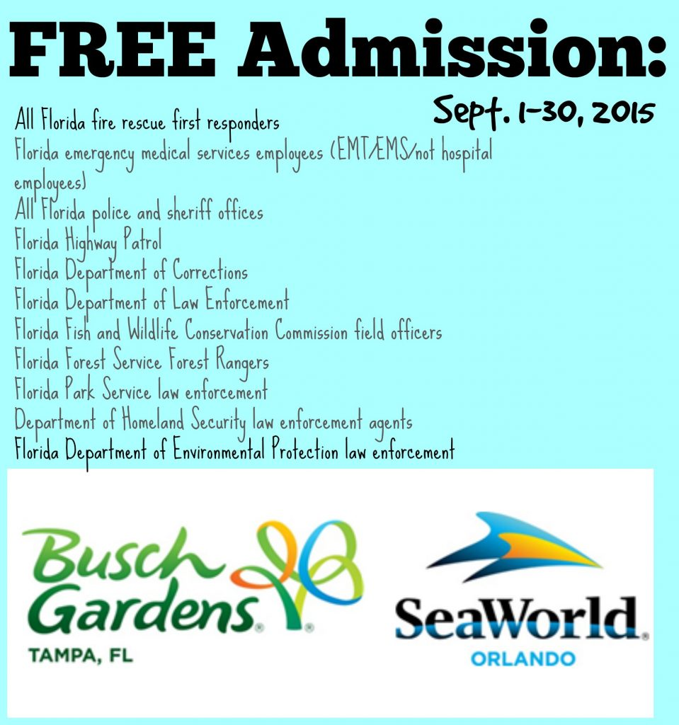 FREE Sea World Admission