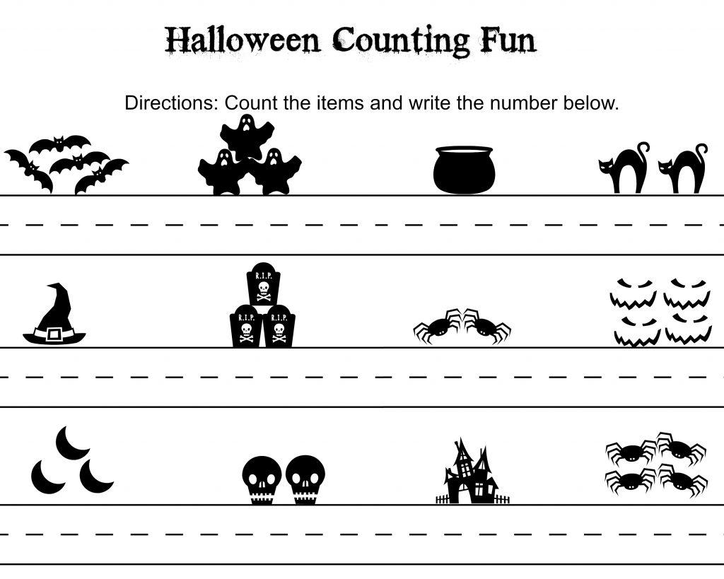 Halloween Counting Fun 1