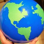 Around the Globe Geography Ball