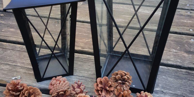 Easy Pinecone Lantern Festive Holiday Home Decor