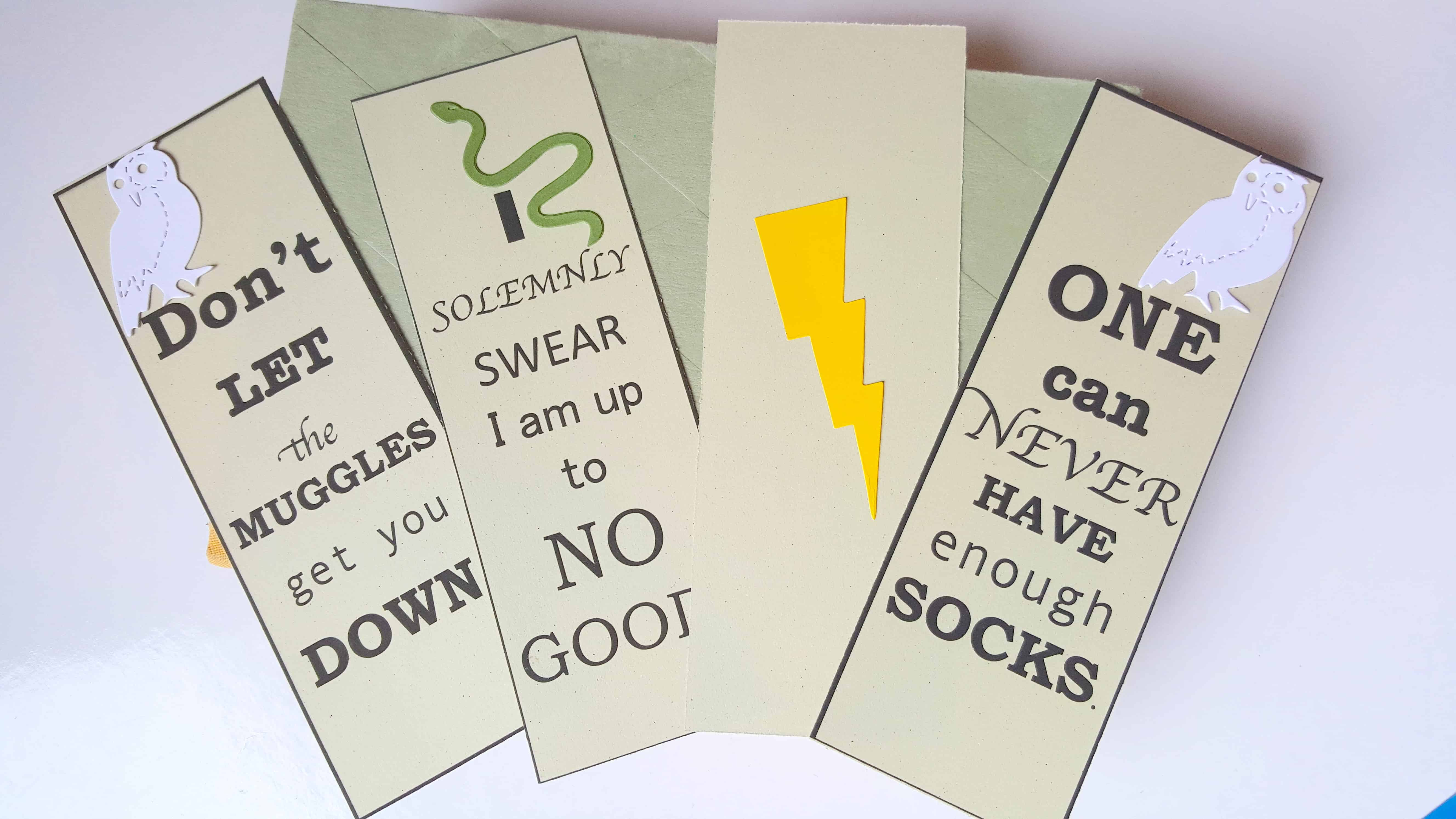 Harry Potter Bookmarks : Free harry potter bookmarks book quotes inspired printable