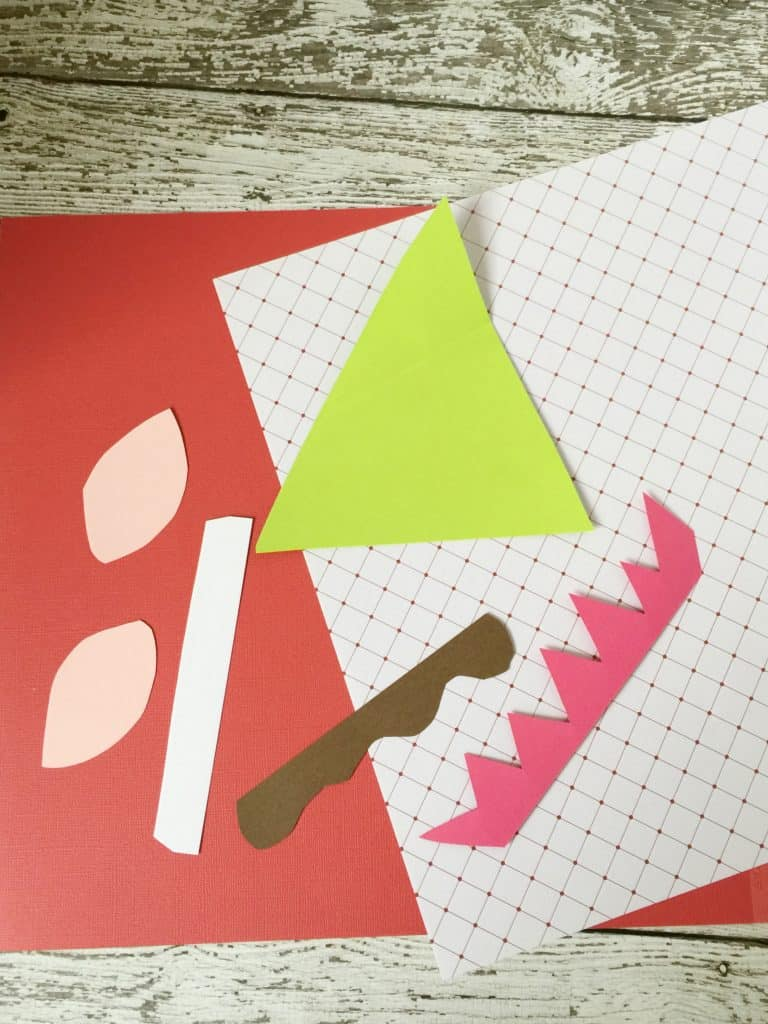 Christmas Elf Brown Paper Bag Craft for Kids