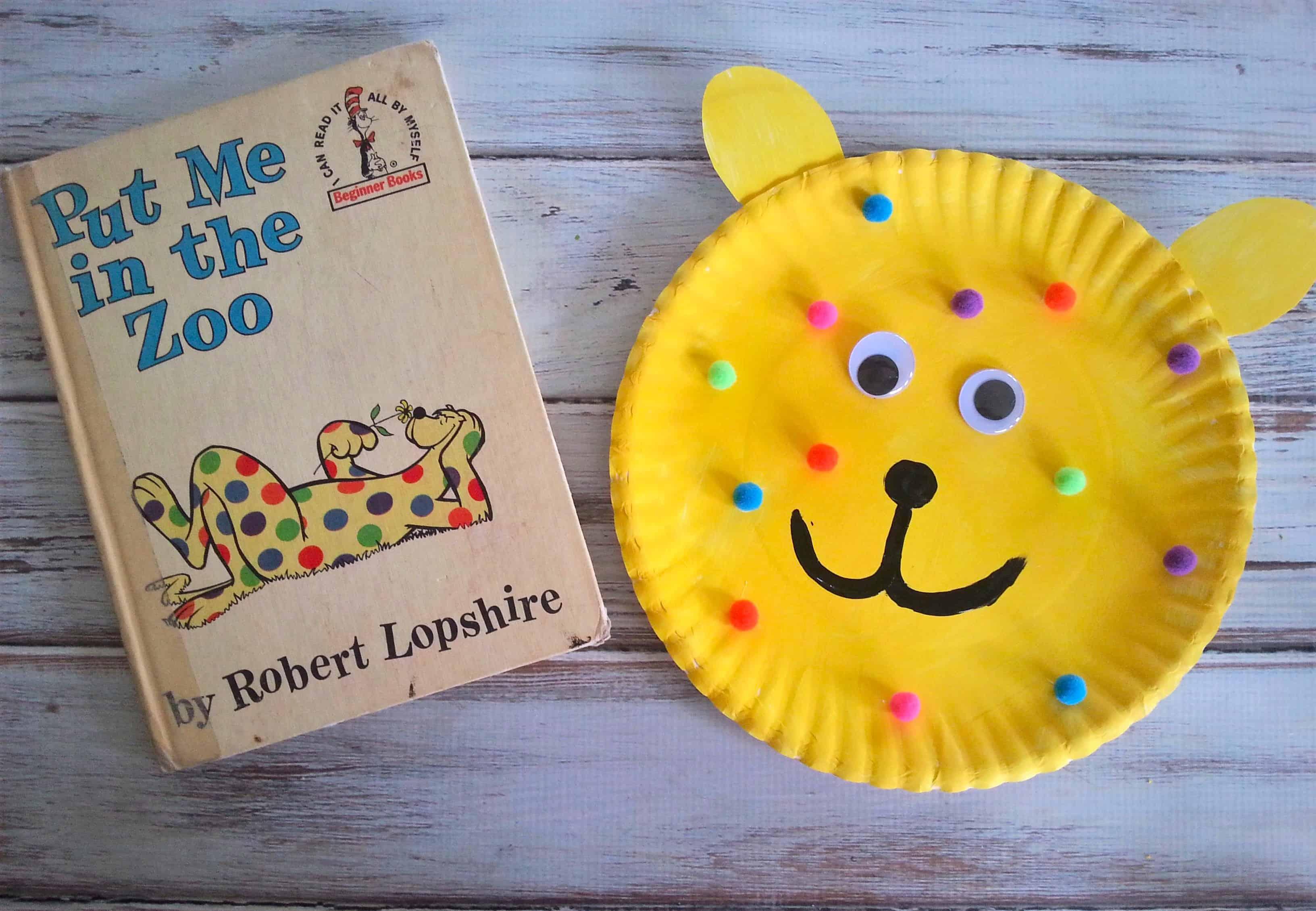 Zoo Art Crafts For Preschoolers