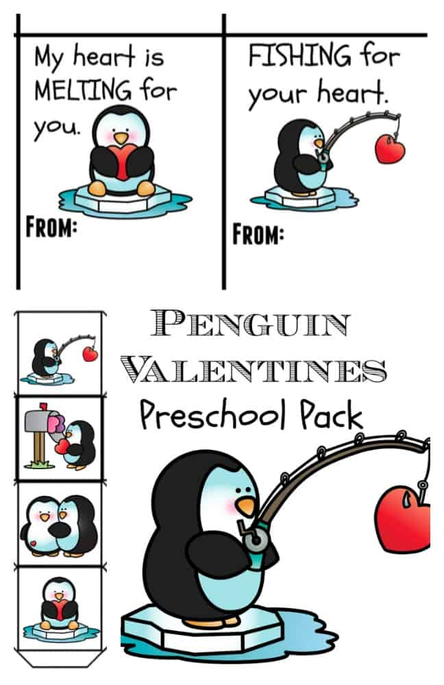 FREE Penguin Letter Template and Gift Tags Printables Surviving – Penguin Math Worksheets