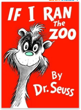 If I Ran the Zoo Dr Seuss children's book