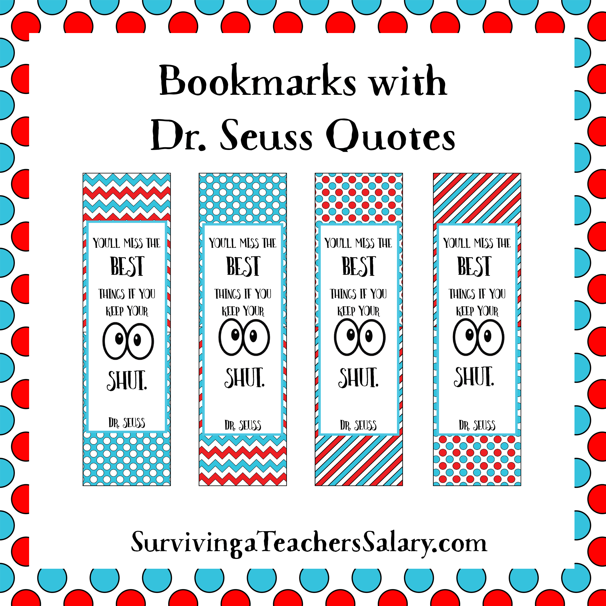 Printables archives page 2 of 5 surviving a teachers for Book marker template
