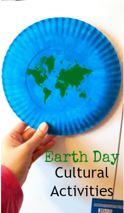 Earth Day Paper Plate & Around the World Cultural Activities