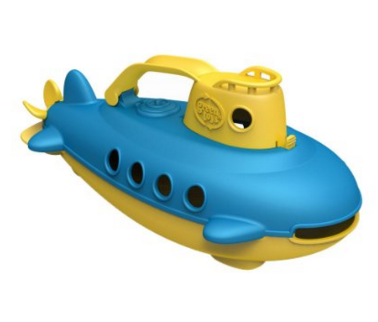 Green Toys Little Kid's Submarine Toy
