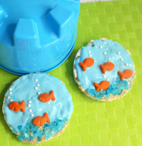 Under the Sea Ocean Beach Kid's Snack Recipe