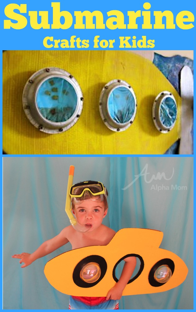 Submarine Crafts for Kids