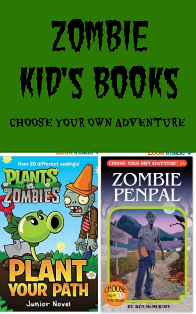 ZOMBIE Books for Kids Choose your Own Adventure