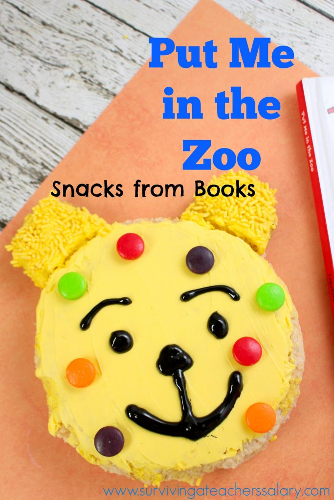 Put Me In The Zoo Book Snacks for Kids