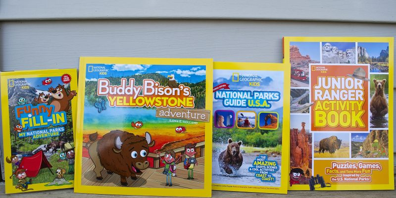 National Geographic Kids National Park & Junior Ranger Books