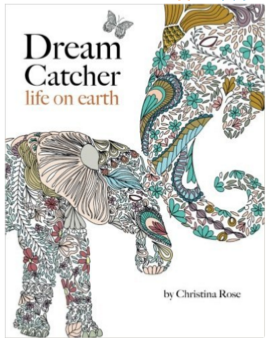 Adult Coloring Book Nature Animals